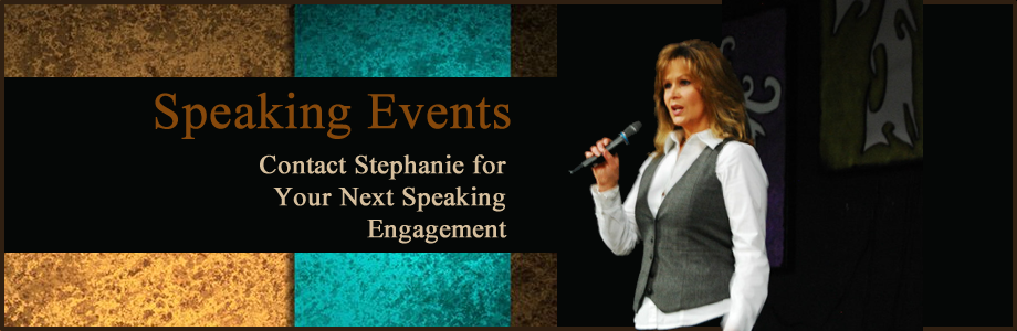 Contact Stephanie for Your Next Speaking Engagement